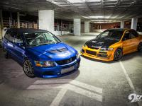 Evo  wagon  versus  sedan